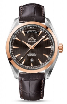 Omega Aqua Terra 150m Co-Axial Day Date Mens watch, model number - 231.23.42.22.06.001, discount price of £6,000.00 from The Watch Source