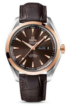 Buy this new Omega Aqua Terra Annual Calendar 43mm 231.23.43.22.06.002 mens watch for the discount price of £9,171.00. UK Retailer.