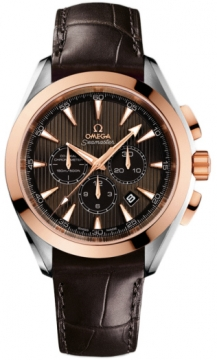 Omega Aqua Terra Chronograph Mens watch, model number - 231.23.44.50.06.001, discount price of £5,835.00 from The Watch Source