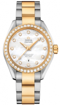 Buy this new Omega Aqua Terra 150m Master Co-Axial 34mm 231.25.34.20.55.006 ladies watch for the discount price of £11,160.00. UK Retailer.