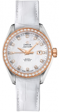 Omega Aqua Terra Ladies Automatic 34mm Ladies watch, model number - 231.28.34.20.55.002, discount price of £8,065.00 from The Watch Source
