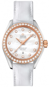 Buy this new Omega Aqua Terra 150m Master Co-Axial 34mm 231.28.34.20.55.003 ladies watch for the discount price of £9,288.00. UK Retailer.