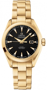 Omega Aqua Terra Ladies Automatic 34mm Ladies watch, model number - 231.50.34.20.01.001, discount price of £14,965.00 from The Watch Source