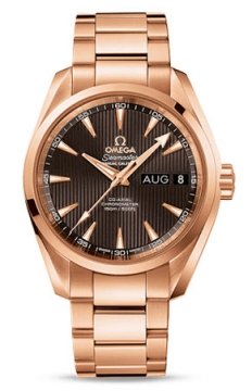 Omega Aqua Terra Annual Calendar 39mm Mens watch, model number - 231.50.39.22.06.001, discount price of £21,528.00 from The Watch Source
