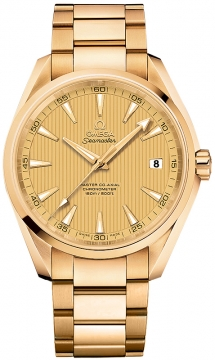 Buy this new Omega Aqua Terra 150m Master Co-Axial 41.5mm 231.50.42.21.08.001 mens watch for the discount price of £20,160.00. UK Retailer.