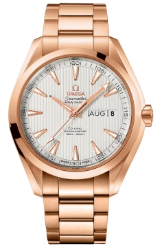 Buy this new Omega Aqua Terra Annual Calendar 43mm 231.50.43.22.02.002 mens watch for the discount price of £22,608.00. UK Retailer.