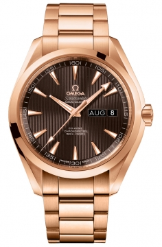 Buy this new Omega Aqua Terra Annual Calendar 43mm 231.50.43.22.06.003 mens watch for the discount price of £22,608.00. UK Retailer.