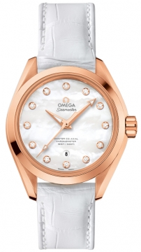 Buy this new Omega Aqua Terra 150m Master Co-Axial 34mm 231.53.34.20.55.001 ladies watch for the discount price of £10,296.00. UK Retailer.