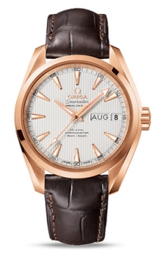 Omega Aqua Terra Annual Calendar 39mm Mens watch, model number - 231.53.39.22.02.001, discount price of £12,000.00 from The Watch Source