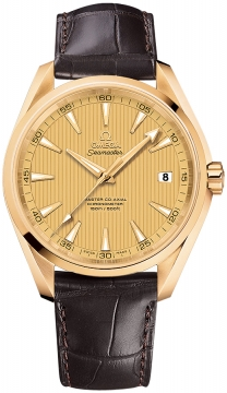 Buy this new Omega Aqua Terra 150m Master Co-Axial 41.5mm 231.53.42.21.08.001 mens watch for the discount price of £11,628.00. UK Retailer.