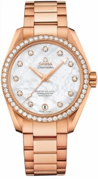 Buy this new Omega Aqua Terra 150m Master Co-Axial 38.5mm 231.55.39.21.55.001 ladies watch for the discount price of £25,560.00. UK Retailer.