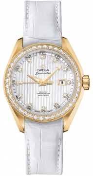 Omega Aqua Terra Ladies Automatic 34mm Ladies watch, model number - 231.58.34.20.55.001, discount price of £12,320.00 from The Watch Source