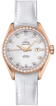 Omega Aqua Terra Ladies Automatic 34mm Ladies watch, model number - 231.58.34.20.55.002, discount price of £12,320.00 from The Watch Source