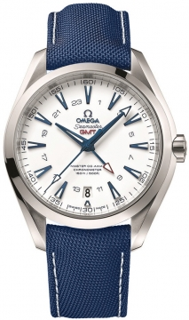 Buy this new Omega Aqua Terra 150m Master Co-Axial GMT 43mm 231.92.43.22.04.001 mens watch for the discount price of £6,048.00. UK Retailer.