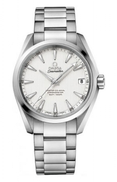 Buy this new Omega Aqua Terra 150m Master Co-Axial 38.5mm 231.10.39.21.02.002 mens watch for the discount price of £3,600.00. UK Retailer.