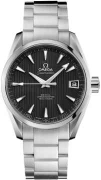 Omega Aqua Terra Automatic Chronometer 38.5mm Mens watch, model number - 231.10.39.21.06.001, discount price of £2,965.00 from The Watch Source