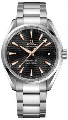 Buy this new Omega Aqua Terra 150m Master Co-Axial 41.5mm 231.10.42.21.01.006 mens watch for the discount price of £3,600.00. UK Retailer.