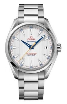 Buy this new Omega Aqua Terra 150m Master Co-Axial 41.5mm 231.10.42.21.02.004 mens watch for the discount price of £3,600.00. UK Retailer.