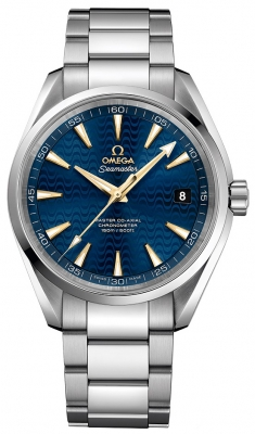 Buy this new Omega Aqua Terra 150m Master Co-Axial 41.5mm 231.10.42.21.03.006 mens watch for the discount price of £3,600.00. UK Retailer.