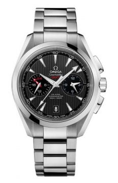 Omega Aqua Terra 150m Co-Axial GMT Chronograph 43mm Mens watch, model number - 231.10.43.52.06.001, discount price of £4,960.00 from The Watch Source