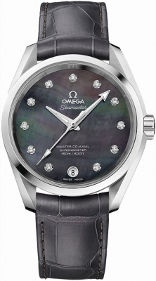 Buy this new Omega Aqua Terra 150m Master Co-Axial 38.5mm 231.13.39.21.57.001 ladies watch for the discount price of £4,536.00. UK Retailer.