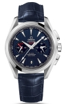 Omega Aqua Terra 150m Co-Axial GMT Chronograph 43mm 231.13.43.52.03.001 watch