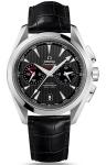 Omega Aqua Terra 150m Co-Axial GMT Chronograph 43mm 231.13.43.52.06.001 watch