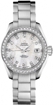 Omega Aqua Terra Ladies Automatic 30mm Ladies watch, model number - 231.15.30.20.55.001, discount price of £6,984.00 from The Watch Source