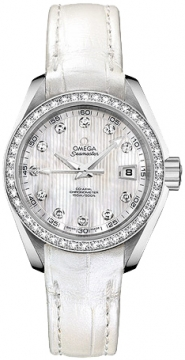 Omega Aqua Terra Ladies Automatic 30mm Ladies watch, model number - 231.18.30.20.55.001, discount price of £6,195.00 from The Watch Source