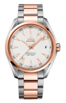 Omega Aqua Terra 150m Master Co-Axial 41.5mm Mens watch, model number - 231.20.42.21.02.001, discount price of £6,450.00 from The Watch Source