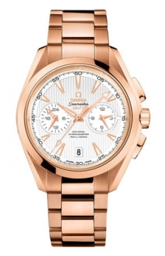 Omega Aqua Terra 150m Co-Axial GMT Chronograph 43mm Mens watch, model number - 231.50.43.52.02.001, discount price of £25,200.00 from The Watch Source