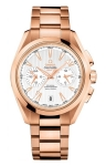 Omega Aqua Terra 150m Co-Axial GMT Chronograph 43mm 231.50.43.52.02.001 watch