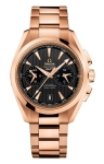 Omega Aqua Terra 150m Co-Axial GMT Chronograph 43mm 231.50.43.52.06.001 watch