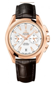 Omega Aqua Terra 150m Co-Axial GMT Chronograph 43mm Mens watch, model number - 231.53.43.52.02.001, discount price of £16,560.00 from The Watch Source