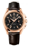 Omega Aqua Terra 150m Co-Axial GMT Chronograph 43mm 231.53.43.52.06.001 watch