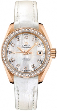 Omega Aqua Terra Ladies Automatic 30mm Ladies watch, model number - 231.58.30.20.55.001, discount price of £9,740.00 from The Watch Source