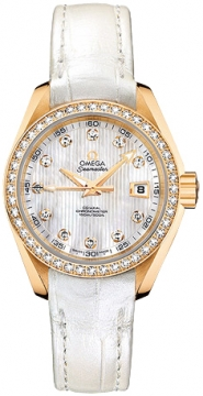 Omega Aqua Terra Ladies Automatic 30mm Ladies watch, model number - 231.58.30.20.55.002, discount price of £10,267.00 from The Watch Source