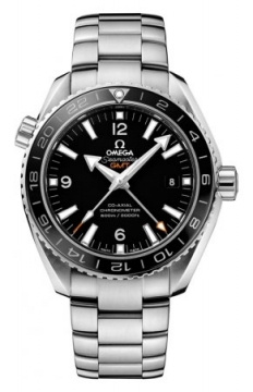 Buy this new Omega Planet Ocean GMT 600m 232.30.44.22.01.001 mens watch for the discount price of £4,680.00. UK Retailer.