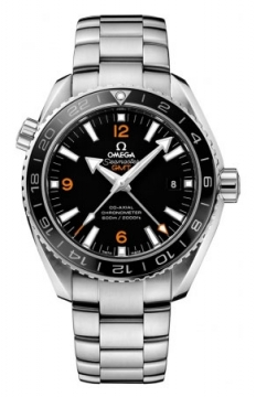 Buy this new Omega Planet Ocean GMT 600m 232.30.44.22.01.002 mens watch for the discount price of £4,680.00. UK Retailer.