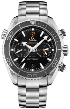 Omega Planet Ocean 600m Co-Axial Chronograph 45.5mm Mens watch, model number - 232.30.46.51.01.003, discount price of £4,968.00 from The Watch Source