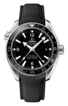 Buy this new Omega Planet Ocean GMT 600m 232.32.44.22.01.001 mens watch for the discount price of £4,608.00. UK Retailer.