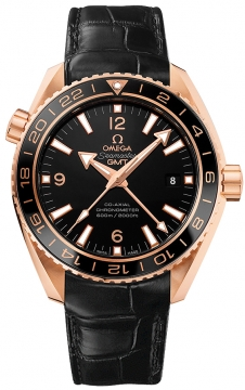 Buy this new Omega Planet Ocean GMT 600m 232.63.44.22.01.001 mens watch for the discount price of £17,136.00. UK Retailer.