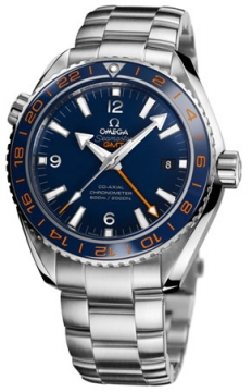 Buy this new Omega Planet Ocean GMT 600m 232.30.44.22.03.001 mens watch for the discount price of £4,892.00. UK Retailer.