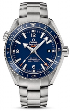 Buy this new Omega Planet Ocean GMT 600m 232.90.44.22.03.001 mens watch for the discount price of £6,120.00. UK Retailer.