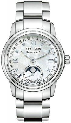 Blancpain Leman Ladies Moonphase & Complete Calendar 34mm 2360-1191a-71 watch