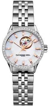 Raymond Weil Freelancer Ladies watch, model number - 2410-sts-97981, discount price of £2,025.00 from The Watch Source