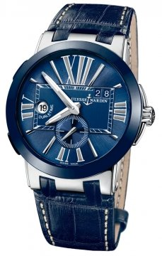 Ulysse Nardin Executive Dual Time 43mm Mens watch, model number - 243-00/43, discount price of £5,474.00 from The Watch Source