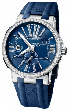 Ulysse Nardin Executive Dual Time 43mm Mens watch, model number - 243-00b-3/43, discount price of £9,832.00 from The Watch Source