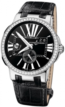Ulysse Nardin Executive Dual Time 43mm Mens watch, model number - 243-00b/42, discount price of £10,701.00 from The Watch Source