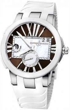 Ulysse Nardin Executive Dual Time Lady Ladies watch, model number - 243-10-3/30-05, discount price of £6,859.00 from The Watch Source